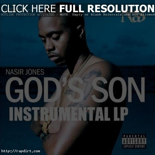 Nas 'God's Son' album cover